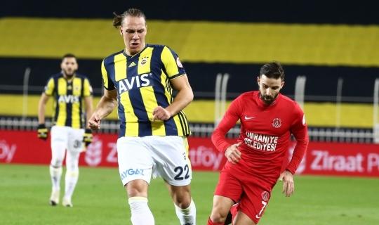 Ziraat Türkiye Kupası: Fenerbahçe: 0 - Ümraniyespor: 0 (İlk yarı)