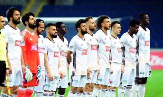 Ziraat Türkiye Kupası: Medipol Başakşehir: 1 - Hatayspor: 0 (İlk yarı)