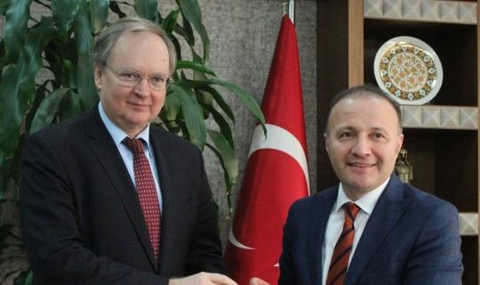 """AB Türkiye Delegasyonu Başkanı Berger: """"Ege Denizi'nde ölen insan sayısı azaldı"""""""