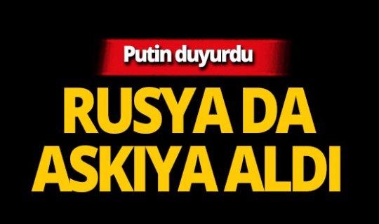 ABD'nin kararı sonrası Putin'den flaş açıklama!