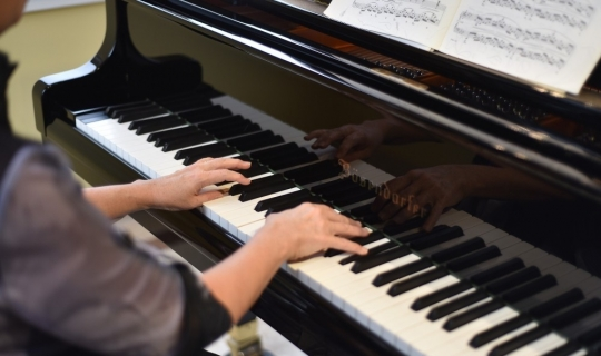 Alanya'da piyano resitali