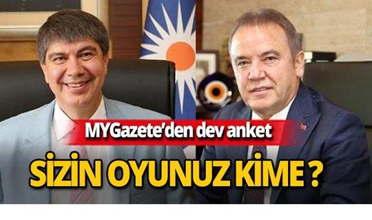 2019 Antalya Büyükşehir Belediye Başkanlığı seçiminde hangi adaya oy vereceksiniz?