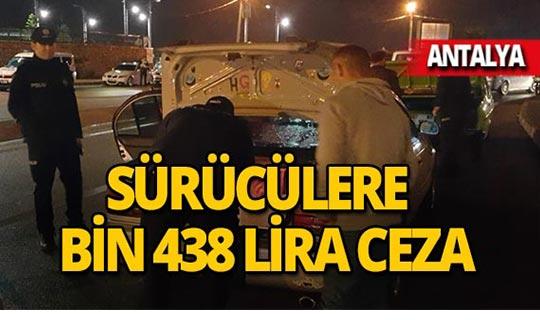 Antalya'da 366 kişi sorgulandı!