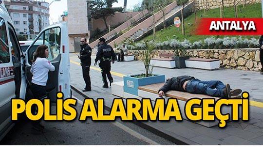 Antalya'da ekipler zor anlar yaşadı!