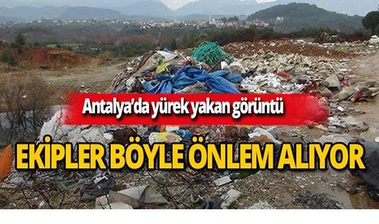 Antalya'da foto-kapanlı takip!
