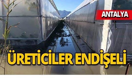 Antalya'da su baskını tehdidi!
