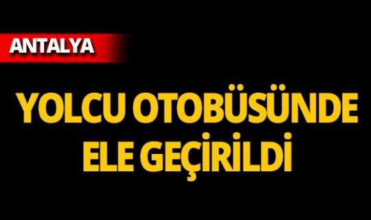 Antalya-Konya yolunda yakalandılar!