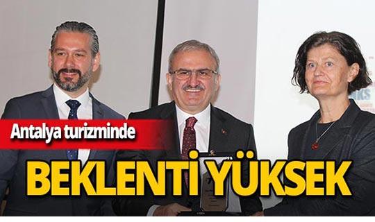 Antalya turizminde 16 milyon beklentisi!