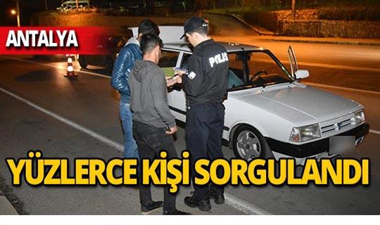 Antalya'da 4 bin 417 lira ceza!
