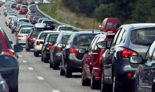 Antalya'da araç sayısı 1 Milyon 60 bin 419 oldu