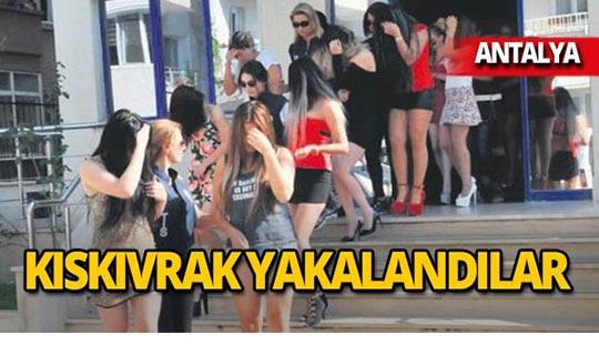 Antalya'da fuhuş operasyonları: 7 tutuklama!