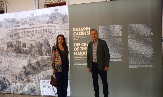 """Antalya'da """"Pazarın Cazibesi: Tarih Boyunca Akdeniz Dünyasında Alışveriş"""" sergisi"""
