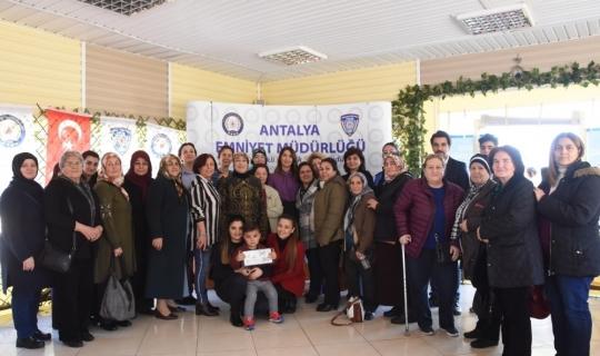 Antalya'da Şehitler için Mevlid-i Şerif okutuldu