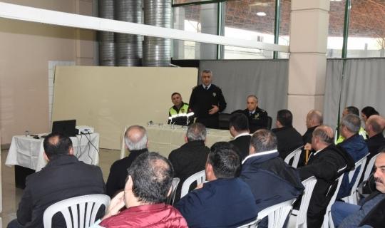 Antalya'da 'Trafik Güvenliği' toplantısı