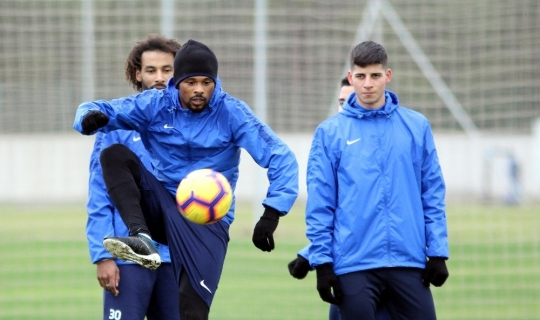 Antalyaspor hazırlıklarını sürdürüyor