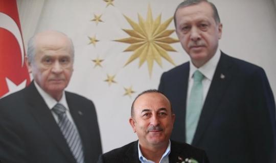 """Bakan Çavuşoğlu: """"CHP'nin içinde terör örgütlerini destekleyenler var"""""""