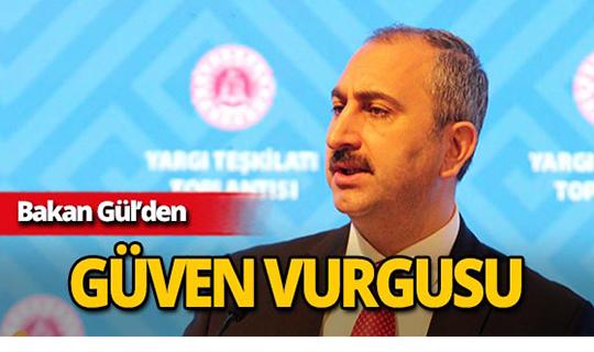 Bakan Gül, Antalya'da önemli açıklamalarda bulundu