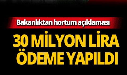 Bakanlık açıkladı! Antalyalı çiftçiye 30 milyon TL ödeme yapıldı!