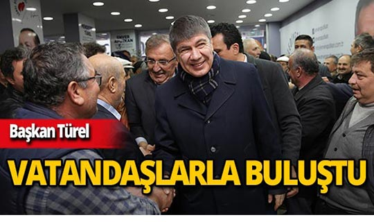"""Başkan Türel: """"Halkımızın arasına göğsümüzü gere gere çıkıyoruz"""""""
