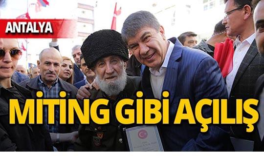 """Başkan Türel: """"Manavgat'a huzur gelecek"""""""