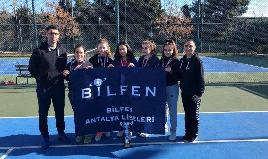 Bilfen Antalya Liseleri sporda da başarılı!