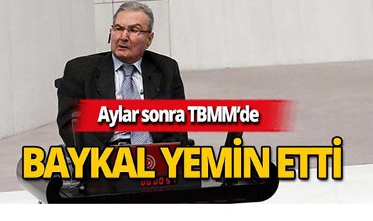 CHP Antalya milletvekili Deniz Baykal yemin etti!