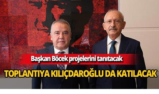 CHP Lideri Kemal Kılıçdaroğlu Antalya'ya geliyor!