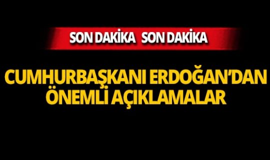 Cumhurbaşkanı Erdoğan'dan flaş fiyat açıklaması!