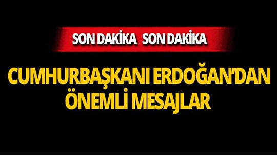 """Cumhurbaşkanı Erdoğan: """"Dünyadaki en büyük tefeci IMF'dir"""""""