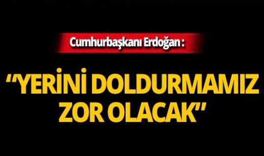Cumhurbaşkanı Erdoğan Kemal Karpat için düzenlenen törende konuştu