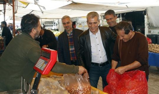 Dülgeroğlu, seçim çalışmalarını sürdürdü