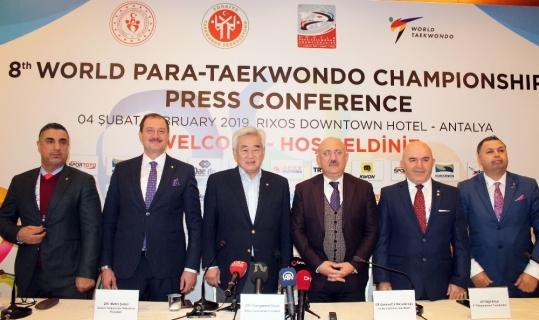 Dünya-Para Tekvando Şampiyonası'na doğru