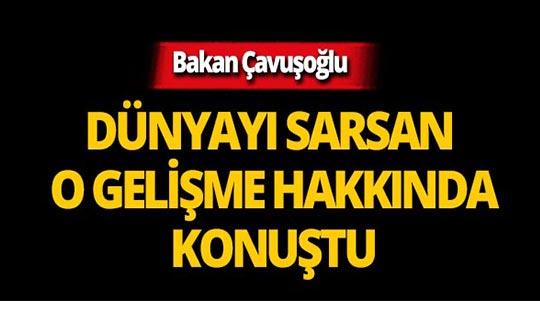 Dünyayı sarsan gelişmeye Türkiye'den ilk açıklama geldi!