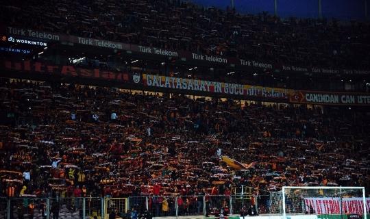 Galatasaray - Trabzonspor maçını 46 bin 927 seyirci izledi