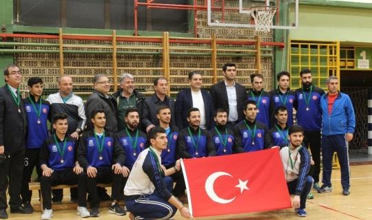 Gaziantep Polisgücü Trophy'de üçüncü oldu