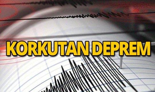 Hatay'da deprem!