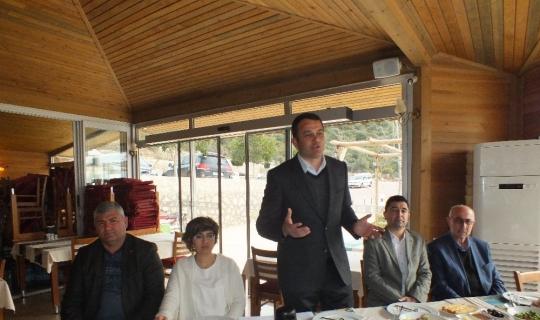 Kaş Belediye Başkan Adayı Ulutaş STK'lılarla buluştu