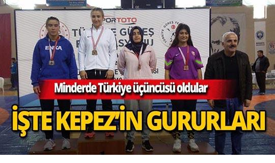 Kepez minderde Türkiye üçüncüsü oldu!