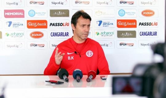 "Korkmaz: ""Ankaragücü maçından istediğimizi alacağız"""