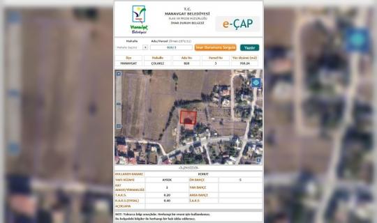 Manavgat Belediyesi'nden E-İmar uygulaması