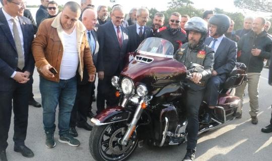 'Motorcu Dostu Bariyer Sistemi Uygulama Çalışması' Antalya'da başlatıldı