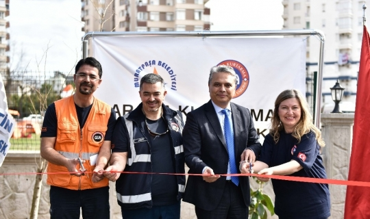 Muratpaşa'da 'Arama-Kurtarma-Gönüllülük Merkezi' açıldı