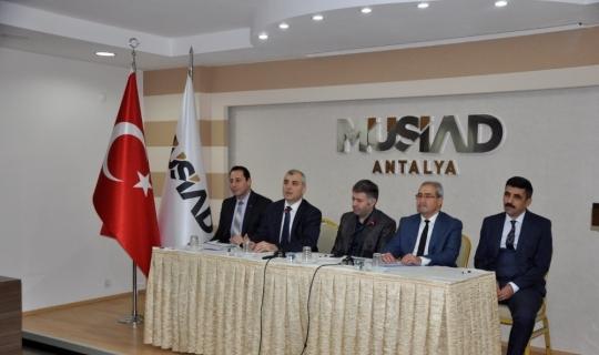 MÜSAİD üyeleri için bilgilendirme toplantısı düzenlendi