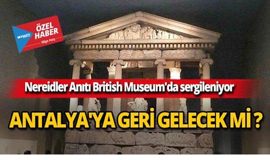 O tarihi eserler Antalya'ya geri gelecek mi?