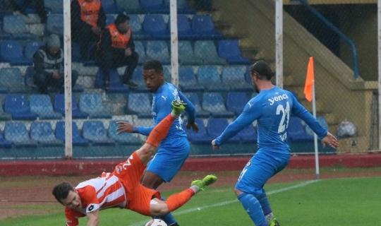 Spor Toto 1. Lig: Adanaspor: 2 - Altay: 0 (İlk yarı sonucu)