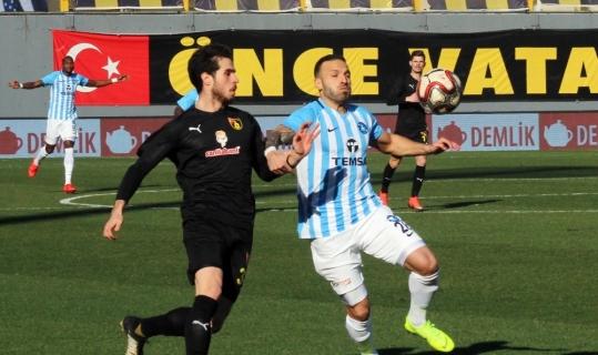 Spor Toto 1. Lig: İstanbulspor: 2 - Adana Demirspor: 0