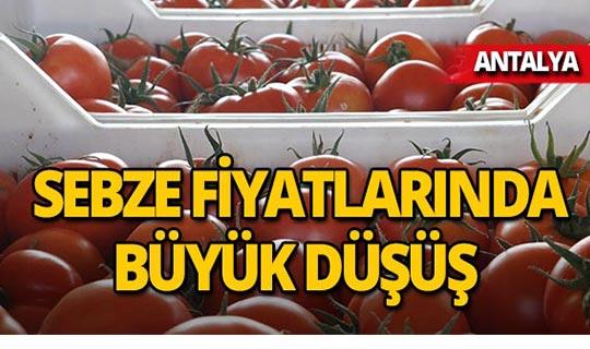 Tanzim satışları sonrası Antalya'da da fiyatlar düştü!