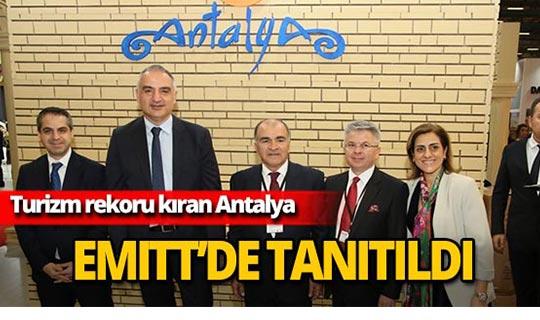 Turizm cenneti Antalya, EMITT Turizm Fuarı'nda tanıtıldı