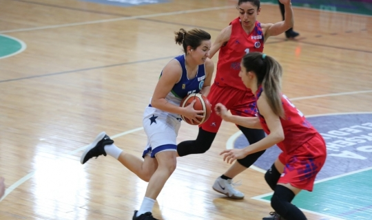 Türkiye Kadınlar Basketbol Ligi: Bursa Büyükşehir: 87 - Mersin Büyükşehir: 56