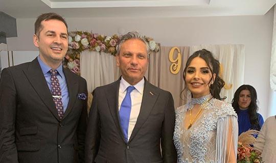 TÜRSAB Başkanı Bağlıkaya, Perçin'e kız isteyip yüzük taktı